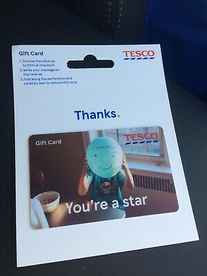 Tesco Gift  Card 20 Pounds New