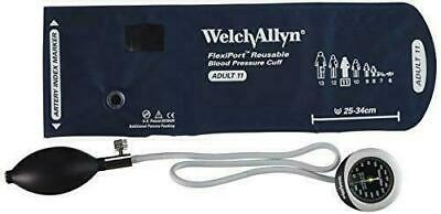 Welch Allyn DS45-11 Gauge with Durable One Piece, Adult Cuff, Pocket Style