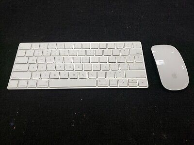 Apple Magic Mouse 2 and Magic Keyboard [Used] [Silver]