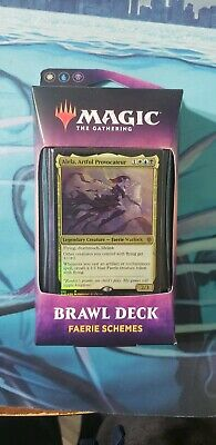 1x Faerie Schemes Brawl Deck Throne of Eldraine Magic the Gathering MTG