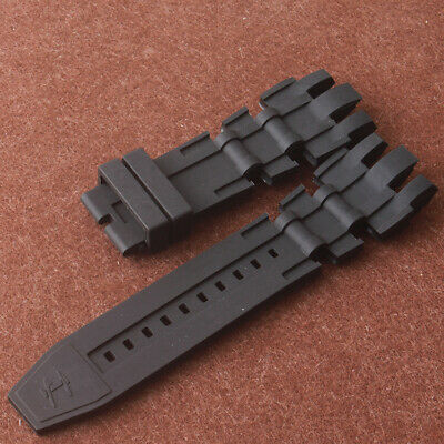 26mm Rubber Sport Diving Watch Band Wristband Strap for Invicta Reserve Watch