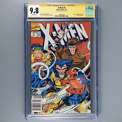 X-Men 4 CGC SS 9.8 1st appearance OMEGA RED NM/MT JIM LEE SIGNED RARE NEWSSTAND