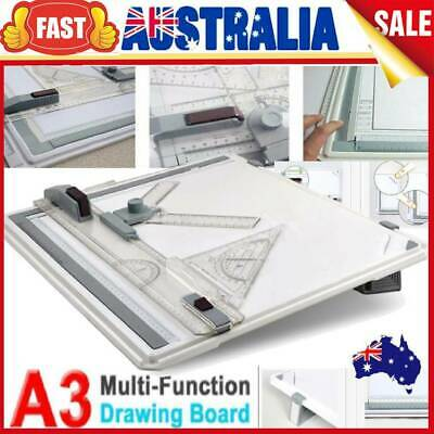 PRO Adjustable Angle Drafting A3 Drawing Board Table Tool With Parallel Motion