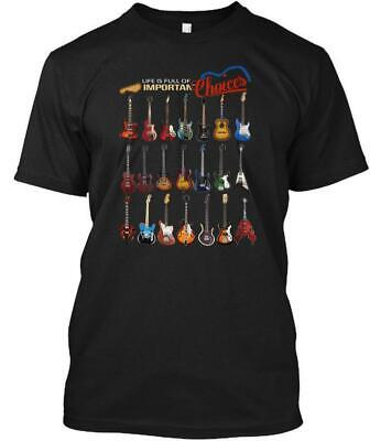 Bass Guitar -impotant Choices Tee T-Shirt