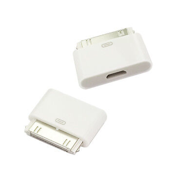30 Pin Dock Connector to Micro USB Adapter Charger For Apple iPhone 4 4S 3GS