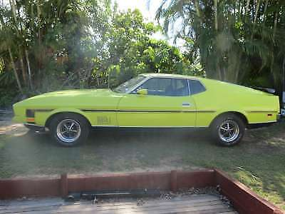 1972  Ford Mach1  Mustang