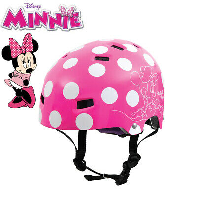 Disney Minnie Mouse Children's Bike Helmet - Licensed T35 Pink - Size 50-54cm
