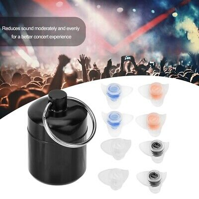 Safety Ear Plugs Anti-noise 27dB Protective Hearing For Music Concert Festival