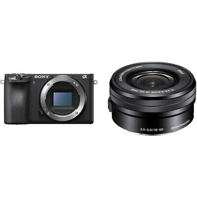 NUEVO Sony Alpha A6500 Digital Camera Mirrorless con 16-50mm Lens Kit
