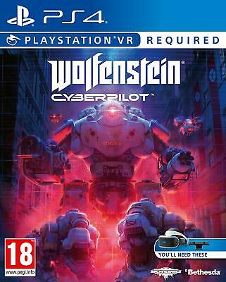 Wolfenstein Cyberpilot PS4 PS VR required ! NEW DISPATCHING TODAY BY 2 P.M.