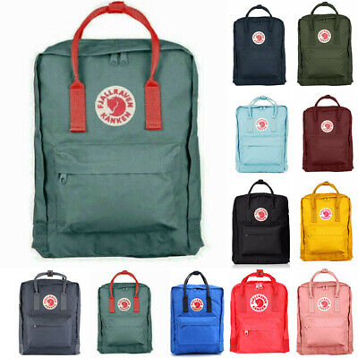 Fjallraven Re Kanken Waterproof Sport Backpack Mini Unisex Rucksack 20L/16L/7L