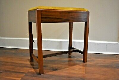 Vintage Antique style Piano stool with underseat stoarge