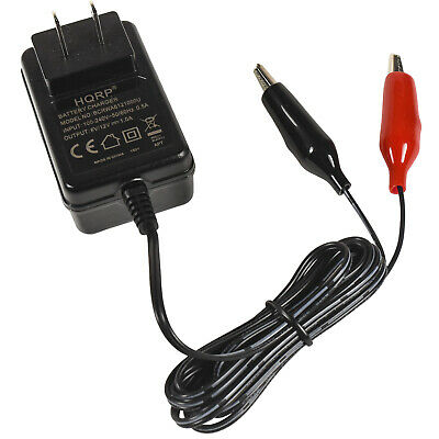 Fully Automatic 6V/12V Sealed Lead Acid Smart Battery Charger for Car Motorcycle