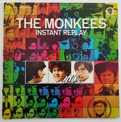 Micky Dolenz Signed The Monkees Instant Replay Vinyl Record Singer Actor RAD
