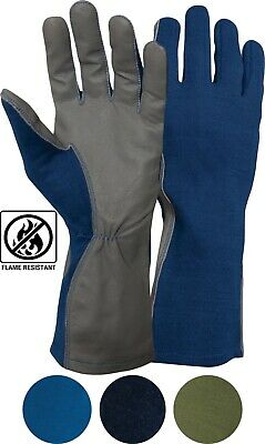 Tactical GI Nomex Flight Gloves Flyers Military Pilot Heat & Flame Resistant