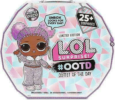 L.O.L. Surprise! #OOTD (Outfit of the Day) Winter Disco 25+ Surprises