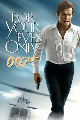 For Your Eyes Only 6 Poster Movie Poster Canvas Picture Art Wall Decore