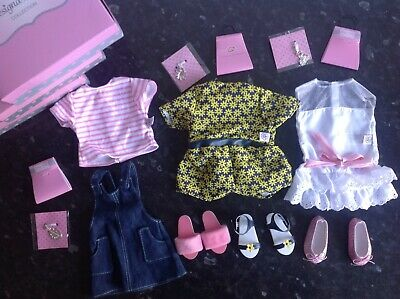 Chad Valley Design A Friend Outfits Sets Of Clothes Designafriend Doll 3 Outfits