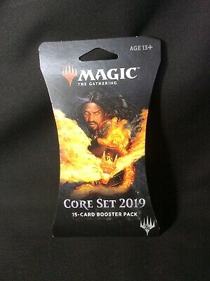 MTG Core 2019  booster Pack New/sealed! Magic the Gathering (FN)