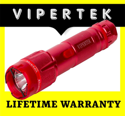 VIPERTEK Stun Gun Self Defense 160 Billion Volt Rechargeable Metal FAST SHIPPING