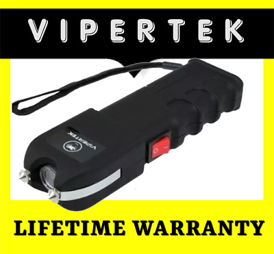 VIPERTEK Stun Gun Self Defense 190 Billion Volt Rechargeable FAST SHIPPING