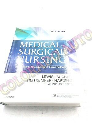 Medical-Surgical Nursing  10TH EDITION  By Lewis ( HARDCOVER )