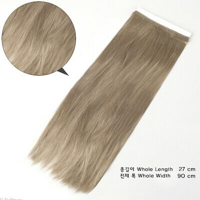 Dollmore SM4 Mohair straight : L.Brown OOAK BJD DIY Synthetic String Hair