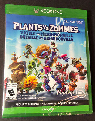 Plants vs Zombies [ Battle for Neighborville ] (XBOX ONE) NEW