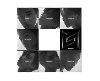 (Korea Release) SuperM 1st Mini Album - SuperM CD + Folded poster