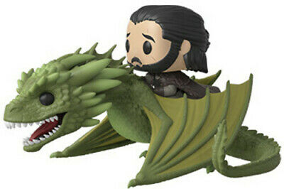 Game Of Thrones - Jon Snow W/ Rhaegal - Funko Pop! Television: (2019, Toy NUEVO)