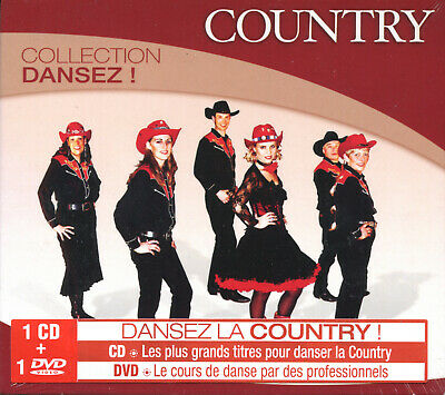 Country (Collection Dansez) - Compilation Cd + Dvd - Neuf New