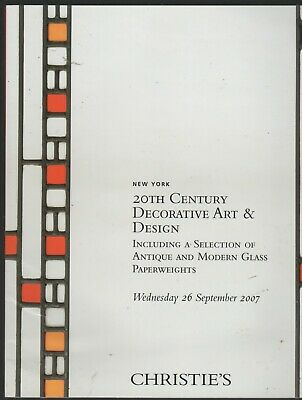 Christie's New York 3 auction catalogues