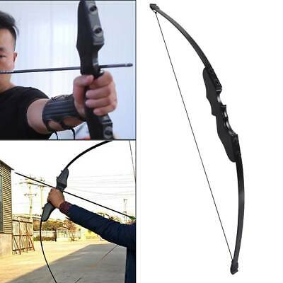 """54"""" 40 lbs Archery Hunting Recurve Compound Bow Shooting Longbow Right Handed"""