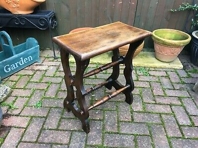 french antique 19th century stool bench