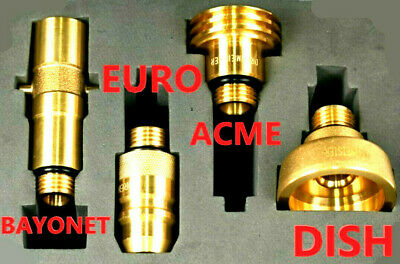 LPG GPL ACME filling point adapter M10 Autogas Adapter 7.5cm LONG not DISH NEWWW