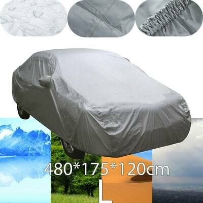 Heavy Duty Waterproof Car Cover Cotton Lining Scratch Proof Large Size L