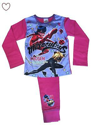 Girls Miraculous Ladybug Pajama Set Pjs Sleepwear