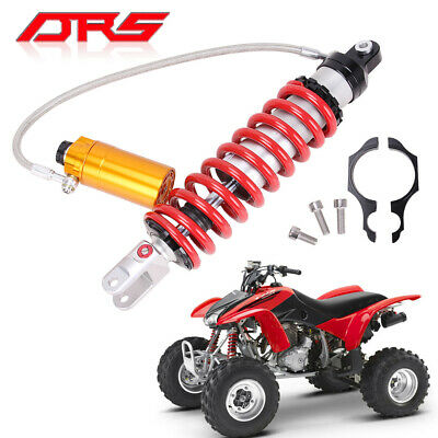 Honda TRX400EX Rear Shock Cover Single Red by Outerwears 30-1011-03