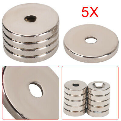 Neodymium Magnets Rare Earth Disk Ring Super Strong Craft Various Strengths