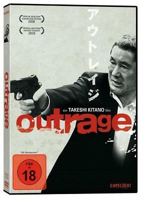 OUTRAGE - 3 Disc Limited Collctor`s Edition - DVD & BluRay - NEU & OVP