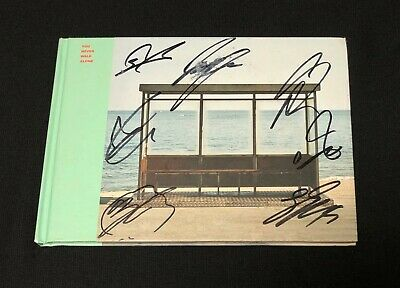 """*NOT PROMO* BTS autographed """"You Never Walk Alone"""" Album signed CD"""