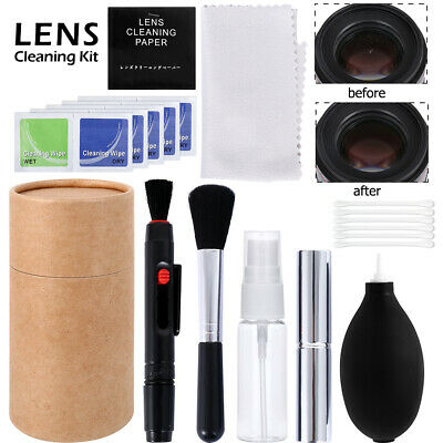 Professional DSLR Camera Lens Cleaning Kit For Canon Nikon Sony Panasonic SLR