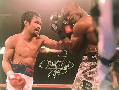 Manny Pacquiao Autograph Signed Photograph - Boxing Punch +COA