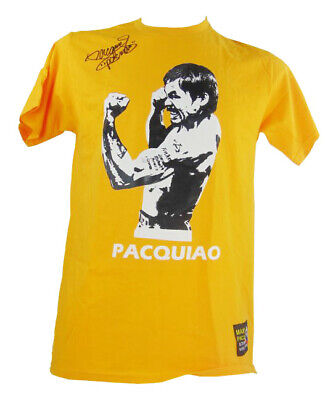Signed Manny Pacquiao Shirt - Authentic Boxing Autograph +COA