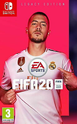FIFA 20 Legacy Edition Nintendo Switch NEW  DISPATCHING TODAY  BY 2 PM