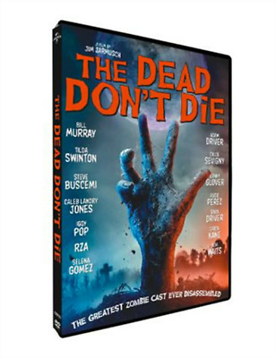THE DEAD DON'T DIE (DVD 2019 Box Set) Brand New and Factory Sealed US Seller