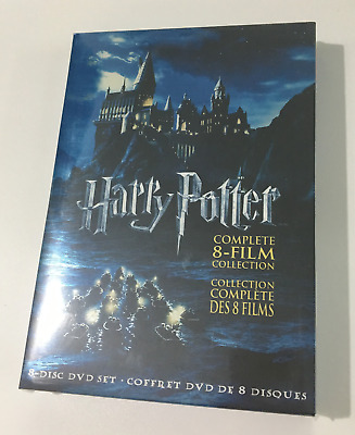 Harry Potter COMPLETE 8-FILM COLLECTION(DVD 8-Disc Box Set) Brand New US SELLER