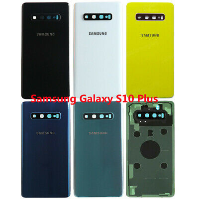 For Samsung Galaxy S10 S10+ S10e Back Glass Cover Battery+Camera Lens+Adhesive