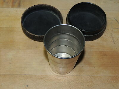Vintage Collapsible Folding Drinking Cup
