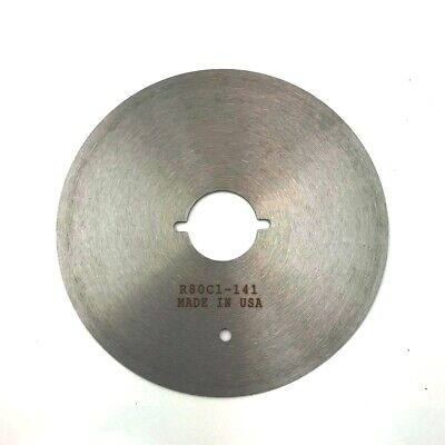 "4"" Round Knife #R80C1-141 For Eastman Cutter Falcon, Robin Cutting Machine"